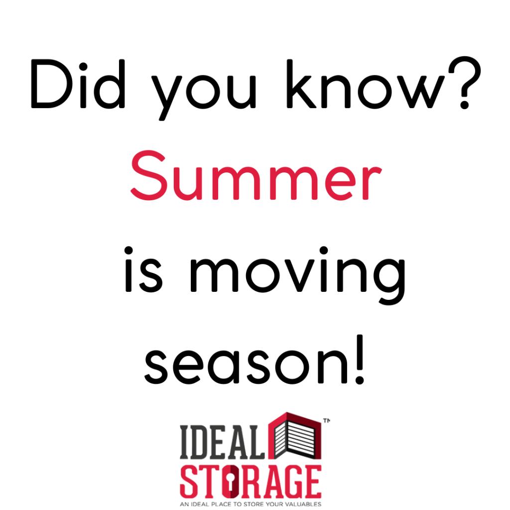 Moving Season! #Summer