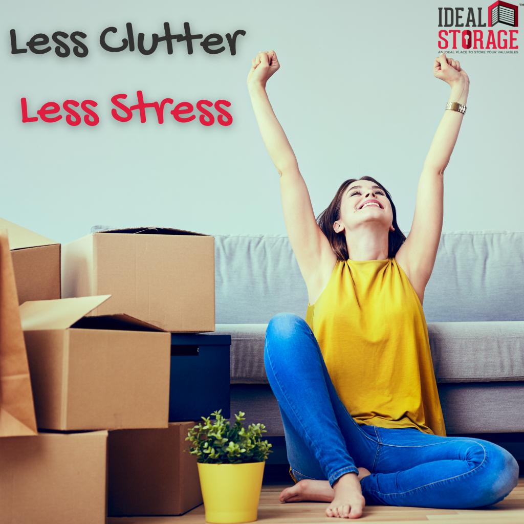 Less Clutter – Less Stress