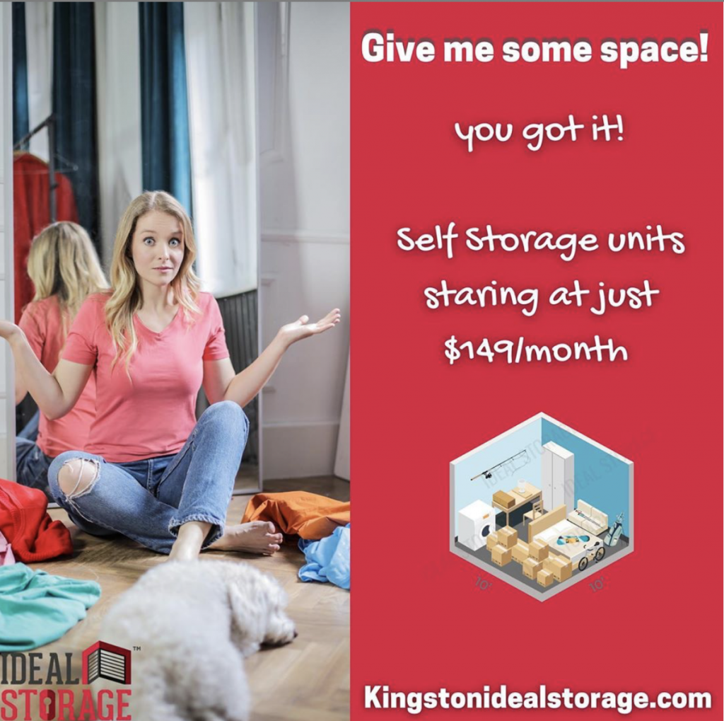 Give Me Some Space! Storage Needs?