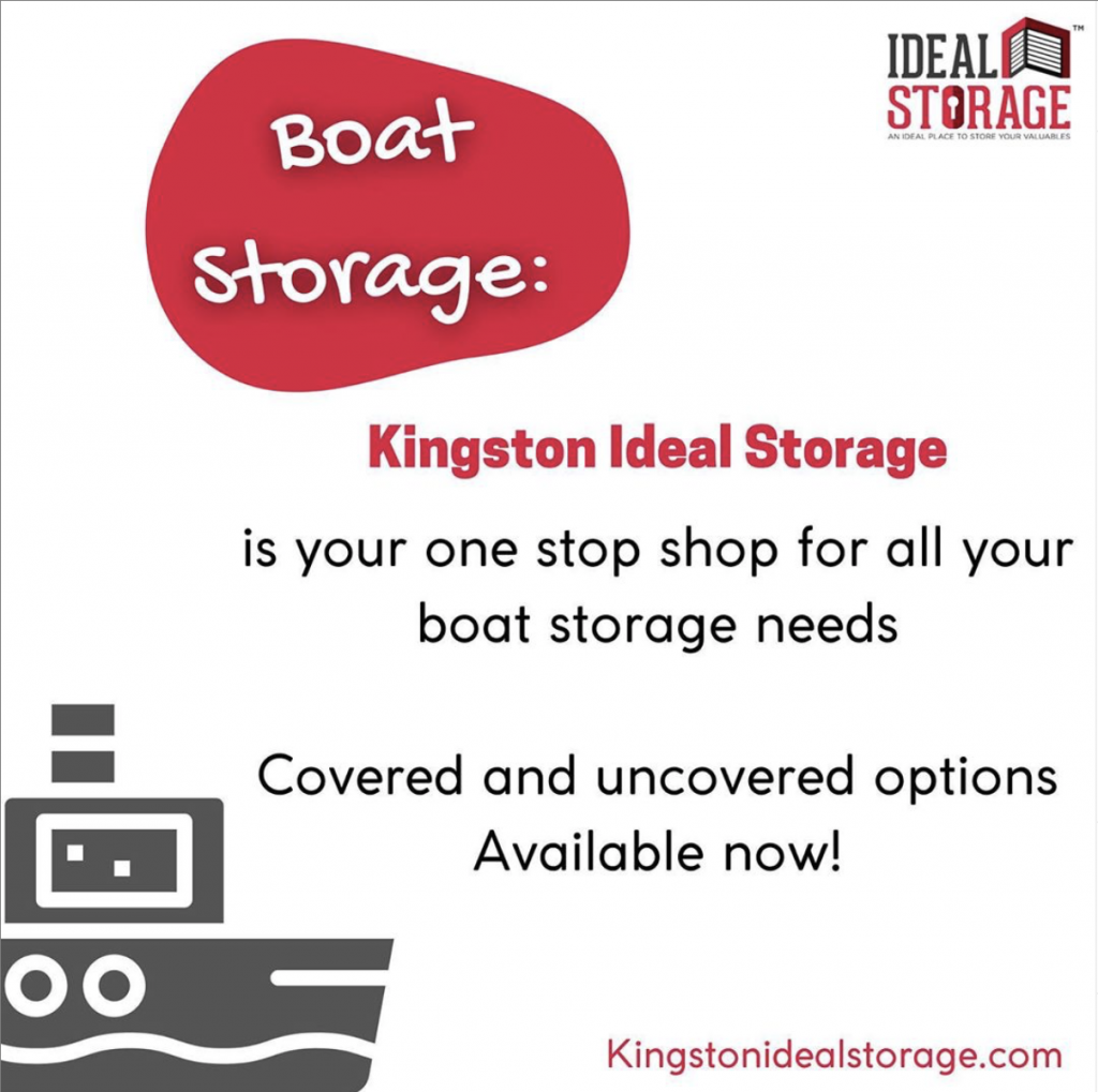 Ideal Boat Storage
