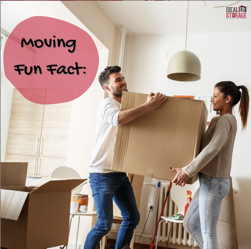 Moving Fun Facts – Ideal Storage