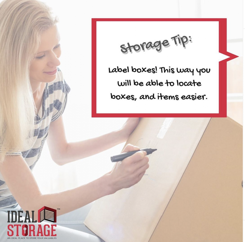 Storage Tip: Label Those Boxes