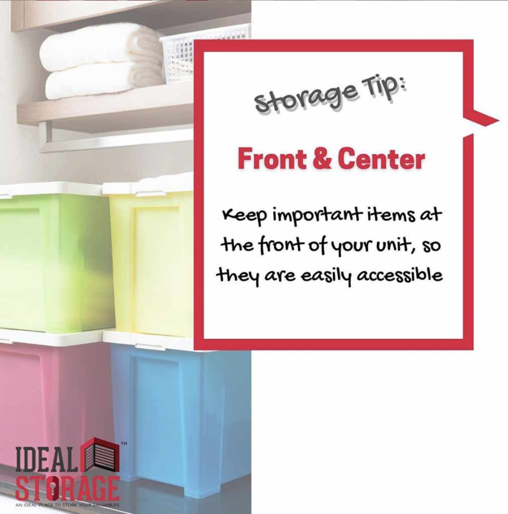 Storage Tips to Keep the Important Stuff Close