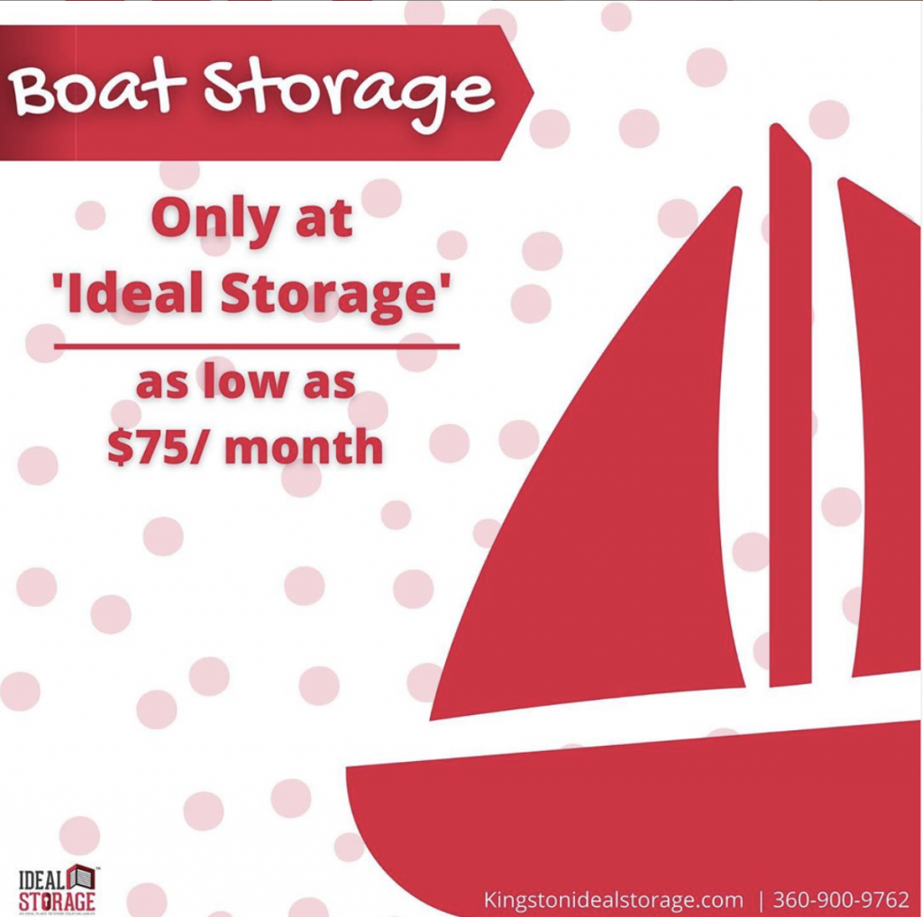 Boat Storage for Winter at Ideal Storage