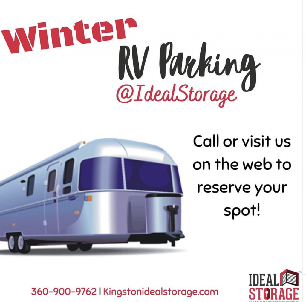 Winter RV Storage @ Ideal Storage