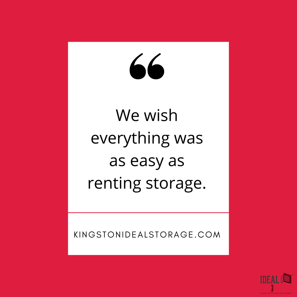 Storage, It's Just that Easy…