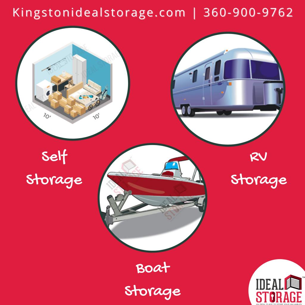 Storage Options @ Ideal Storage