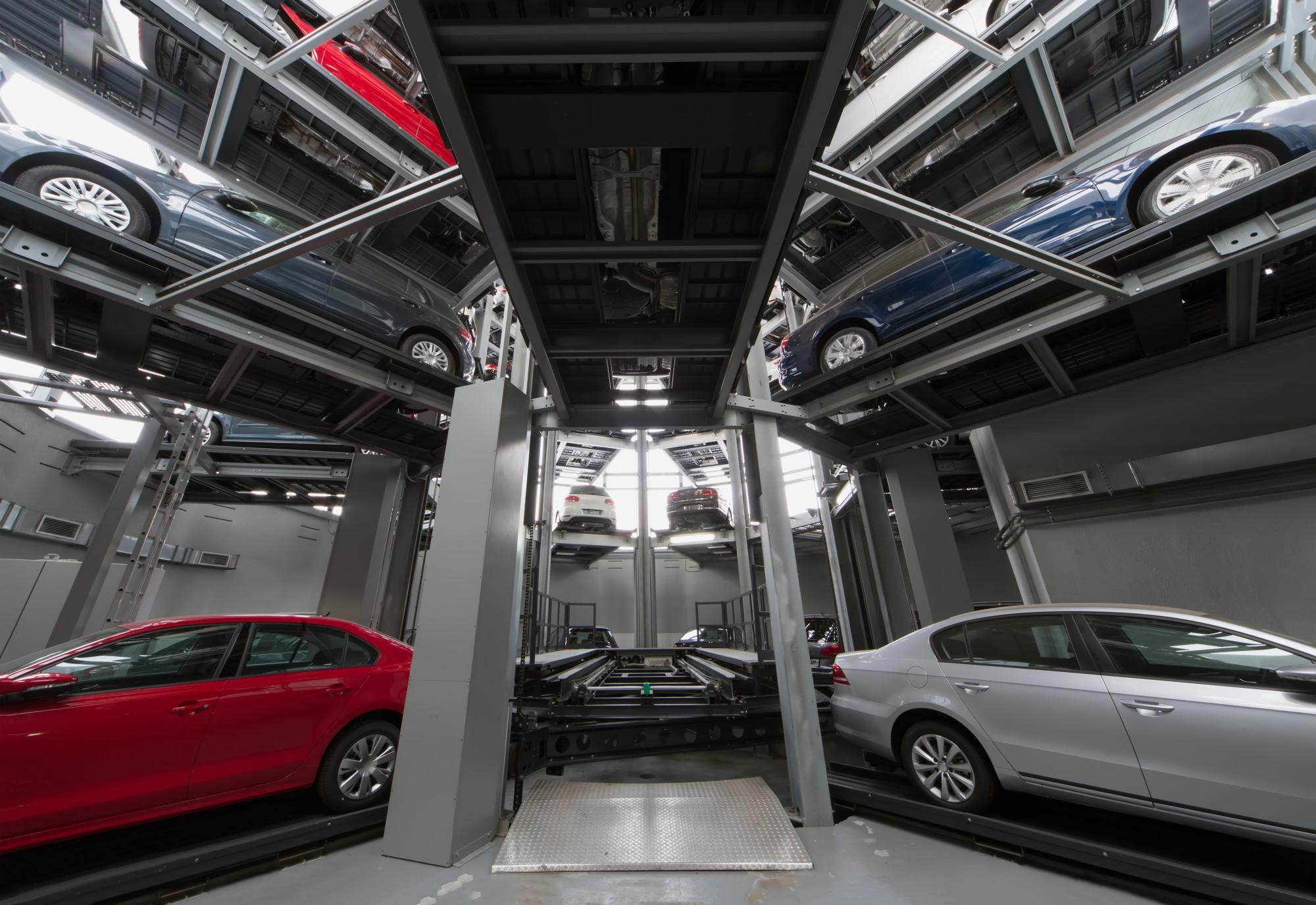 car storage facility